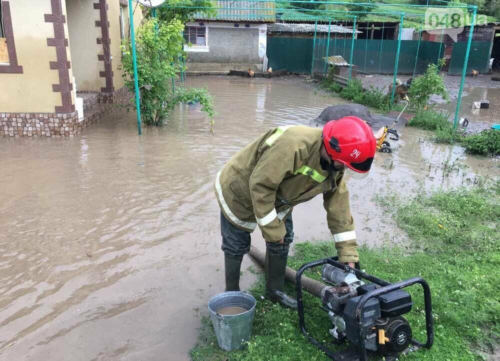 Дворы ушли под воду: в Одесской области дождевой водой затопило село, - ФОТО, фото-6
