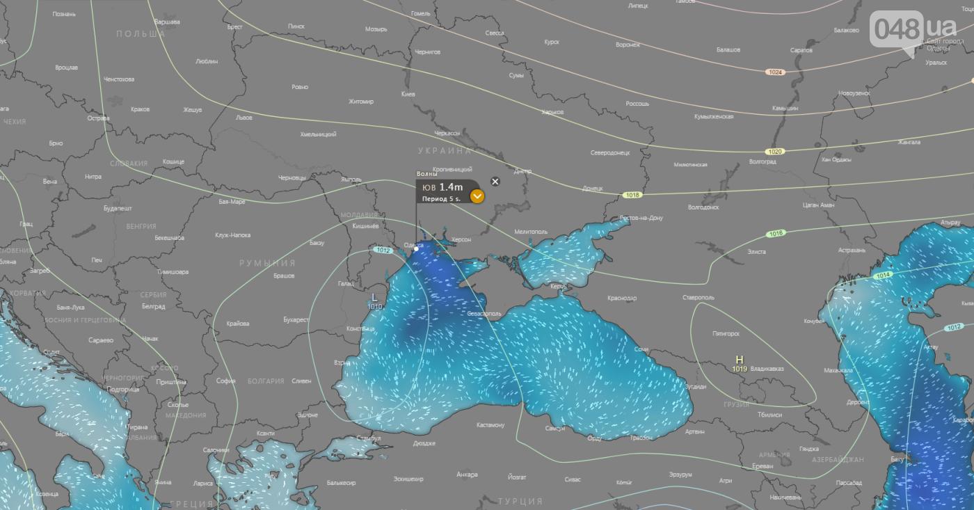 Черноморские циклоны всю неделю будут атаковать Одессу: погода на 7 дней, фото-3