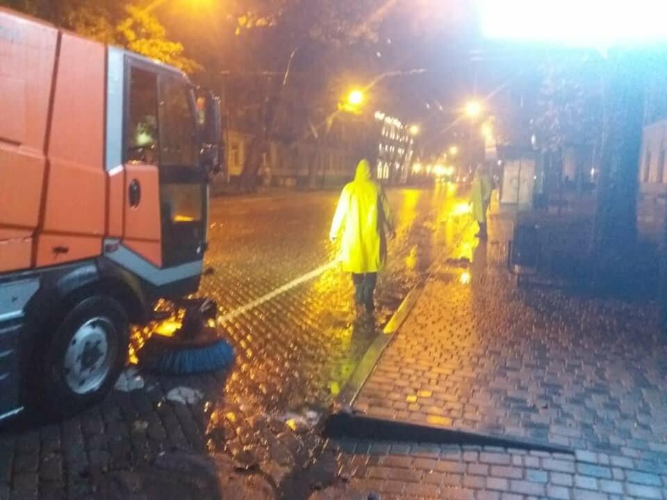 Ливень в Одессе: затоплены  улицы, повалены деревья,- ФОТО, фото-4