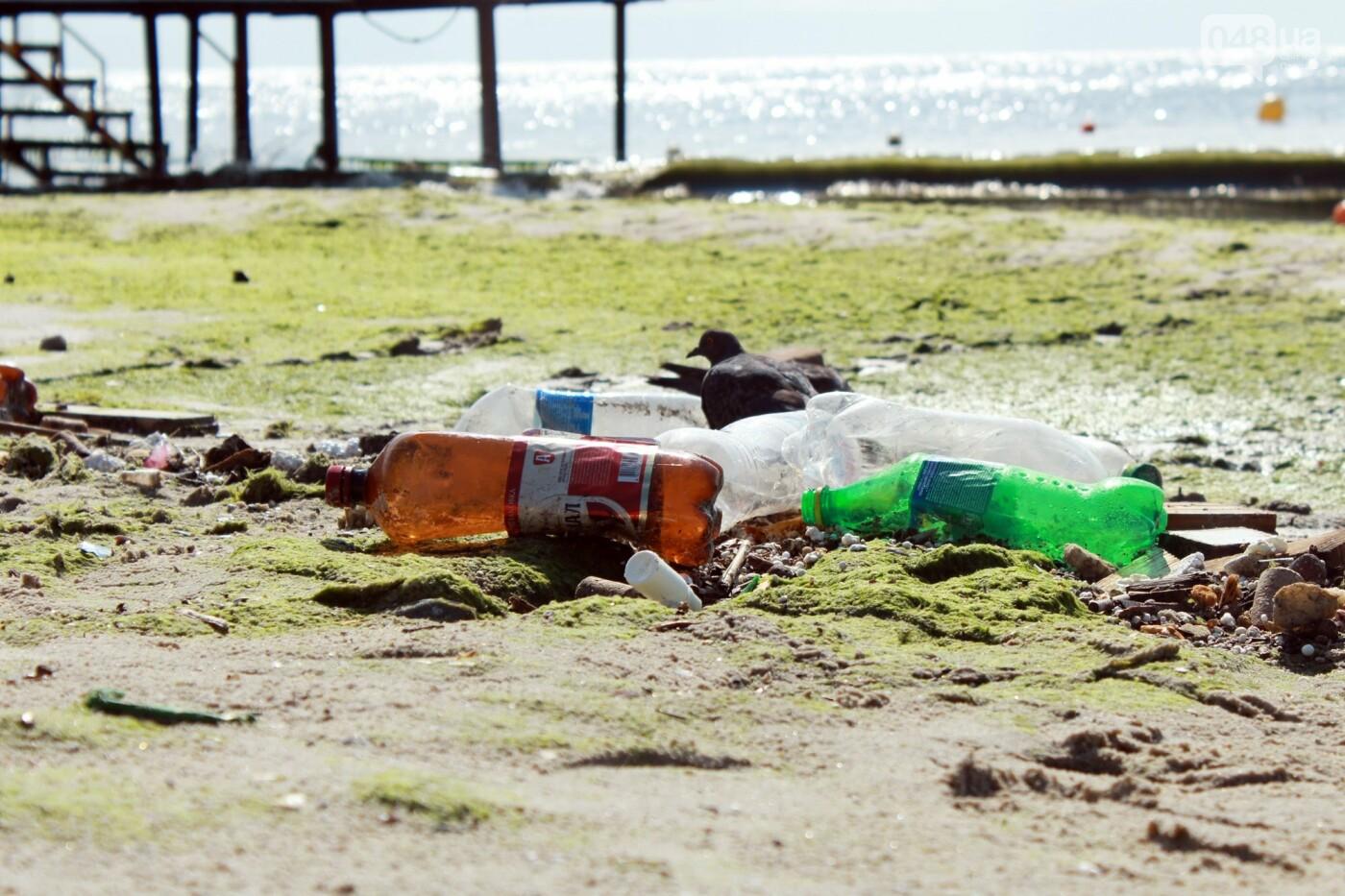 Часть одесской Аркадии буквально смыло в море, - ФОТО, ВИДЕО , фото-47