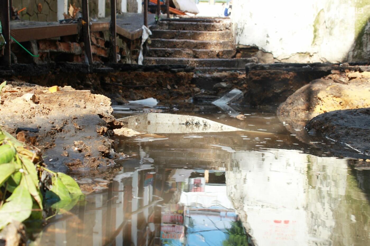Часть одесской Аркадии буквально смыло в море, - ФОТО, ВИДЕО , фото-32