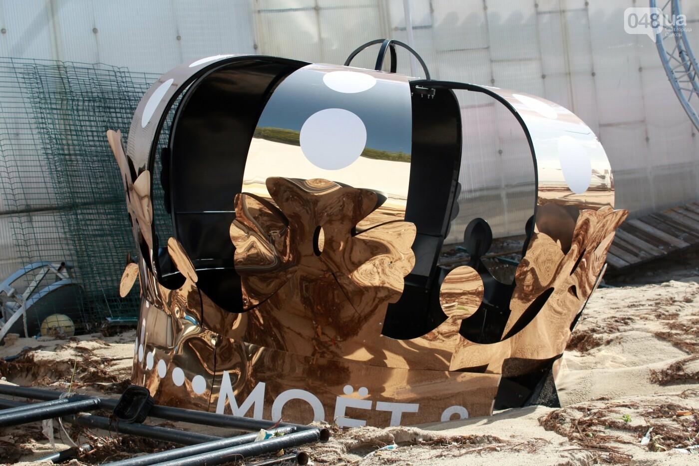 Часть одесской Аркадии буквально смыло в море, - ФОТО, ВИДЕО , фото-45