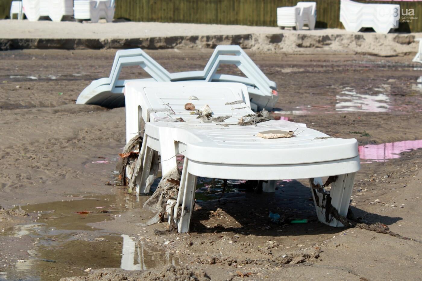 Часть одесской Аркадии буквально смыло в море, - ФОТО, ВИДЕО , фото-43