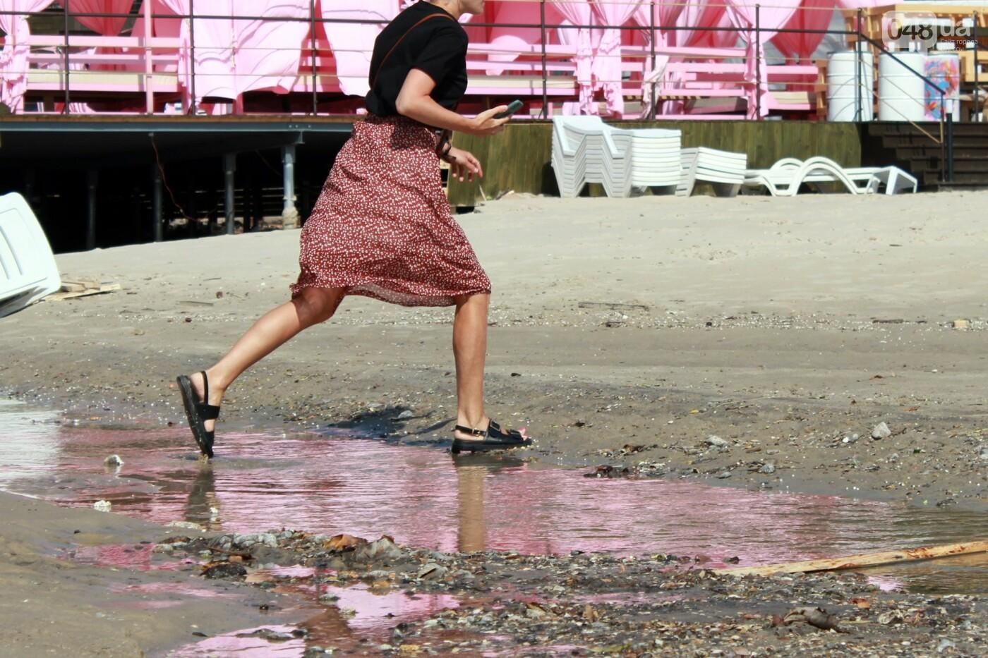 Часть одесской Аркадии буквально смыло в море, - ФОТО, ВИДЕО , фото-59