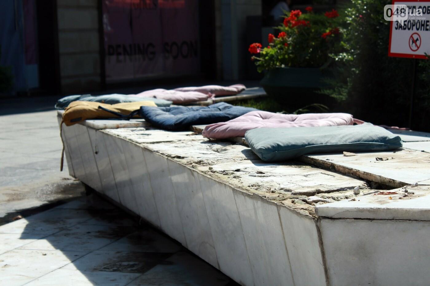 Часть одесской Аркадии буквально смыло в море, - ФОТО, ВИДЕО , фото-6