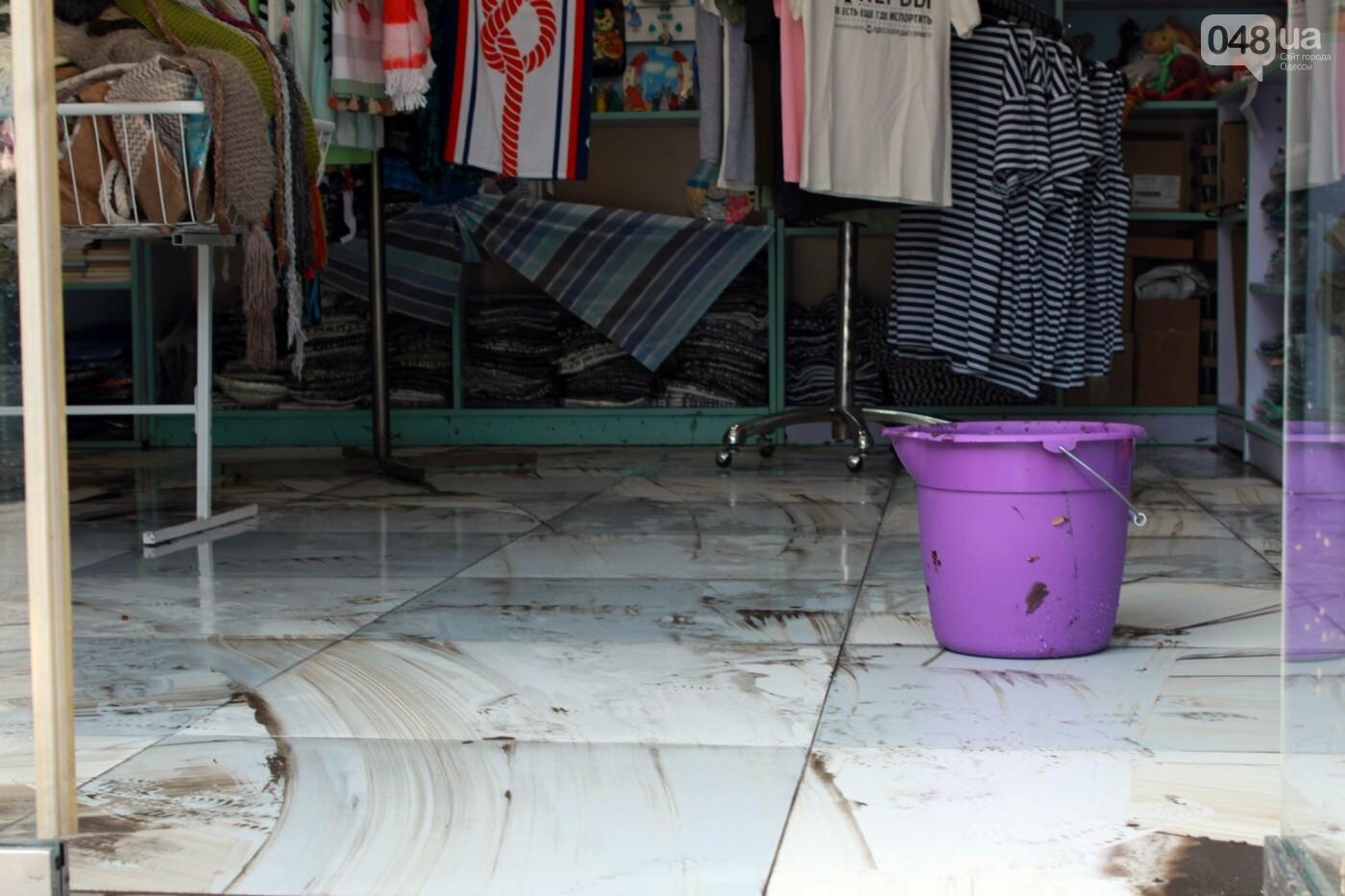 Часть одесской Аркадии буквально смыло в море, - ФОТО, ВИДЕО , фото-11
