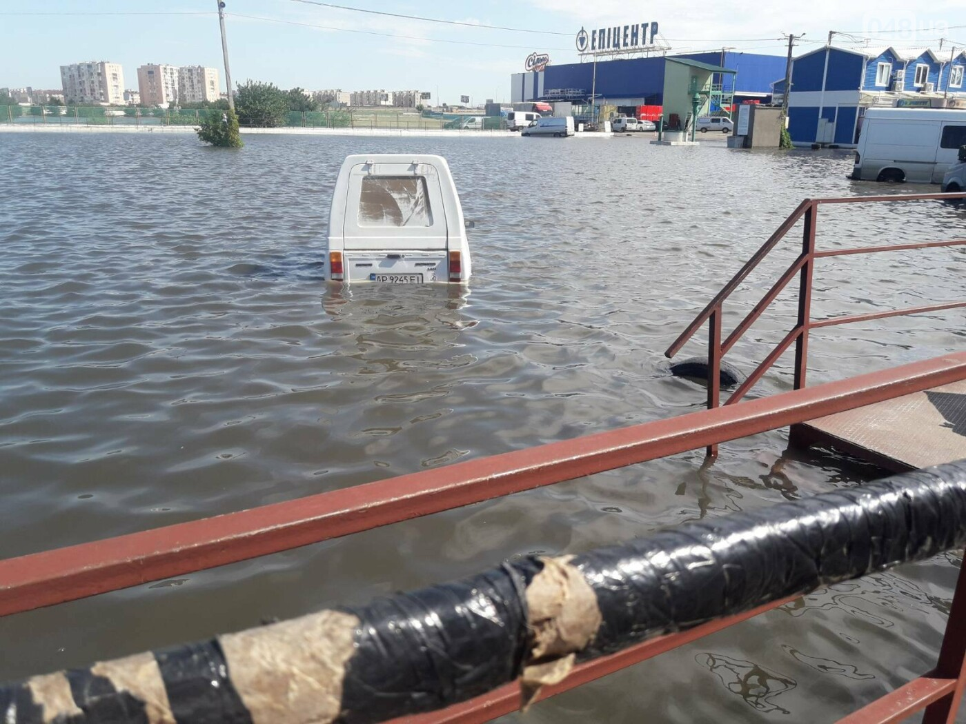 На промрынке 7км в Одессе образовалось море, - ФОТО, фото-10