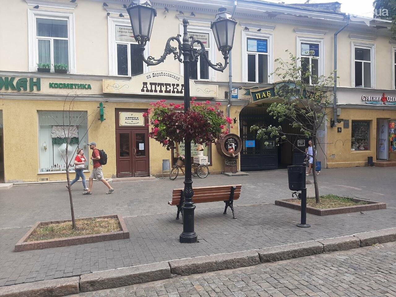 Дерибасовская после ливня в Одессе, - ФОТО, ВИДЕО, фото-7