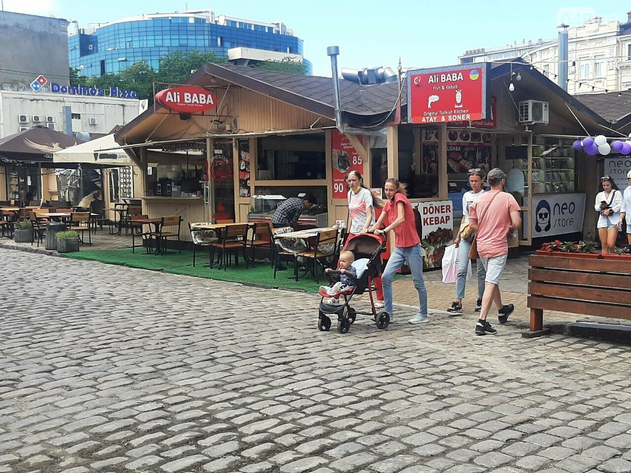 Дерибасовская после ливня в Одессе, - ФОТО, ВИДЕО, фото-18