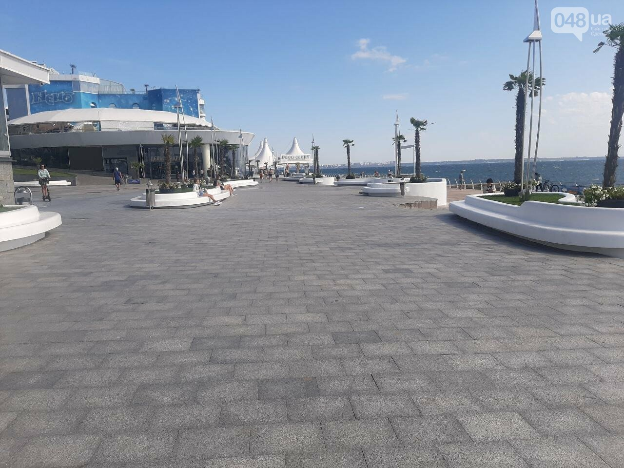 Как выглядит пляж Ланжерон в Одессе после ливня, - ФОТО, ВИДЕО, фото-8