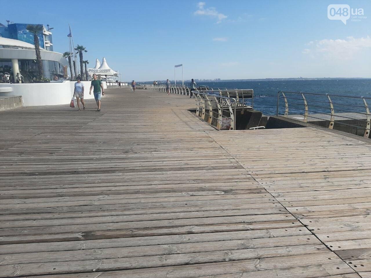 Как выглядит пляж Ланжерон в Одессе после ливня, - ФОТО, ВИДЕО, фото-9