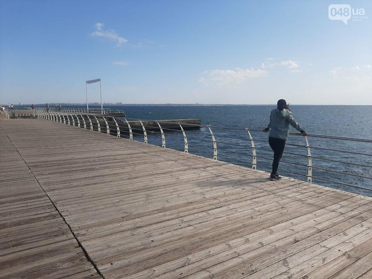 Как выглядит пляж Ланжерон в Одессе после ливня, - ФОТО, ВИДЕО, фото-10