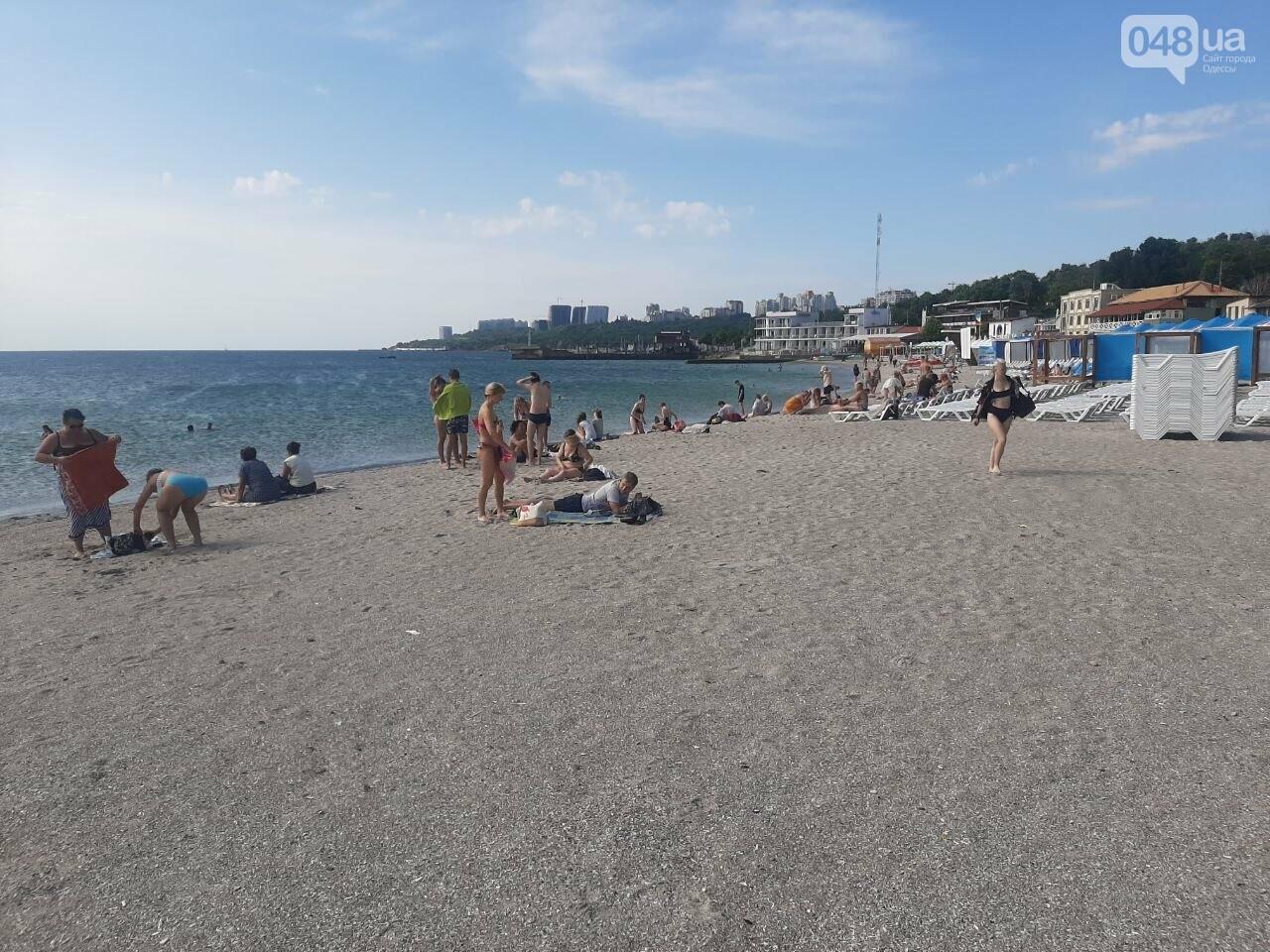 Как выглядит пляж Ланжерон в Одессе после ливня, - ФОТО, ВИДЕО, фото-13