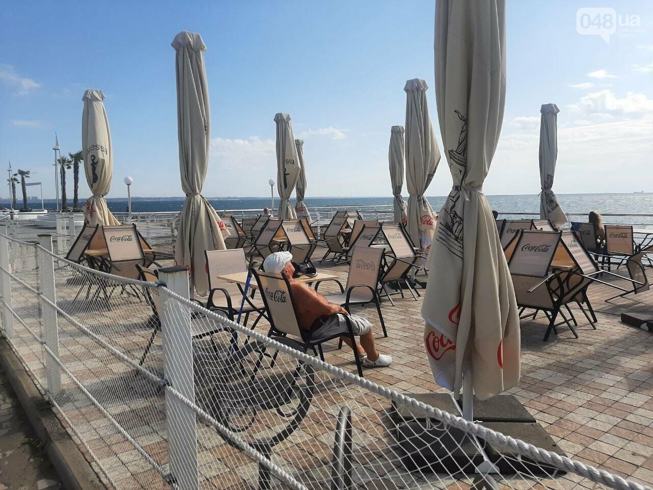 Как выглядит пляж Ланжерон в Одессе после ливня, - ФОТО, ВИДЕО, фото-11