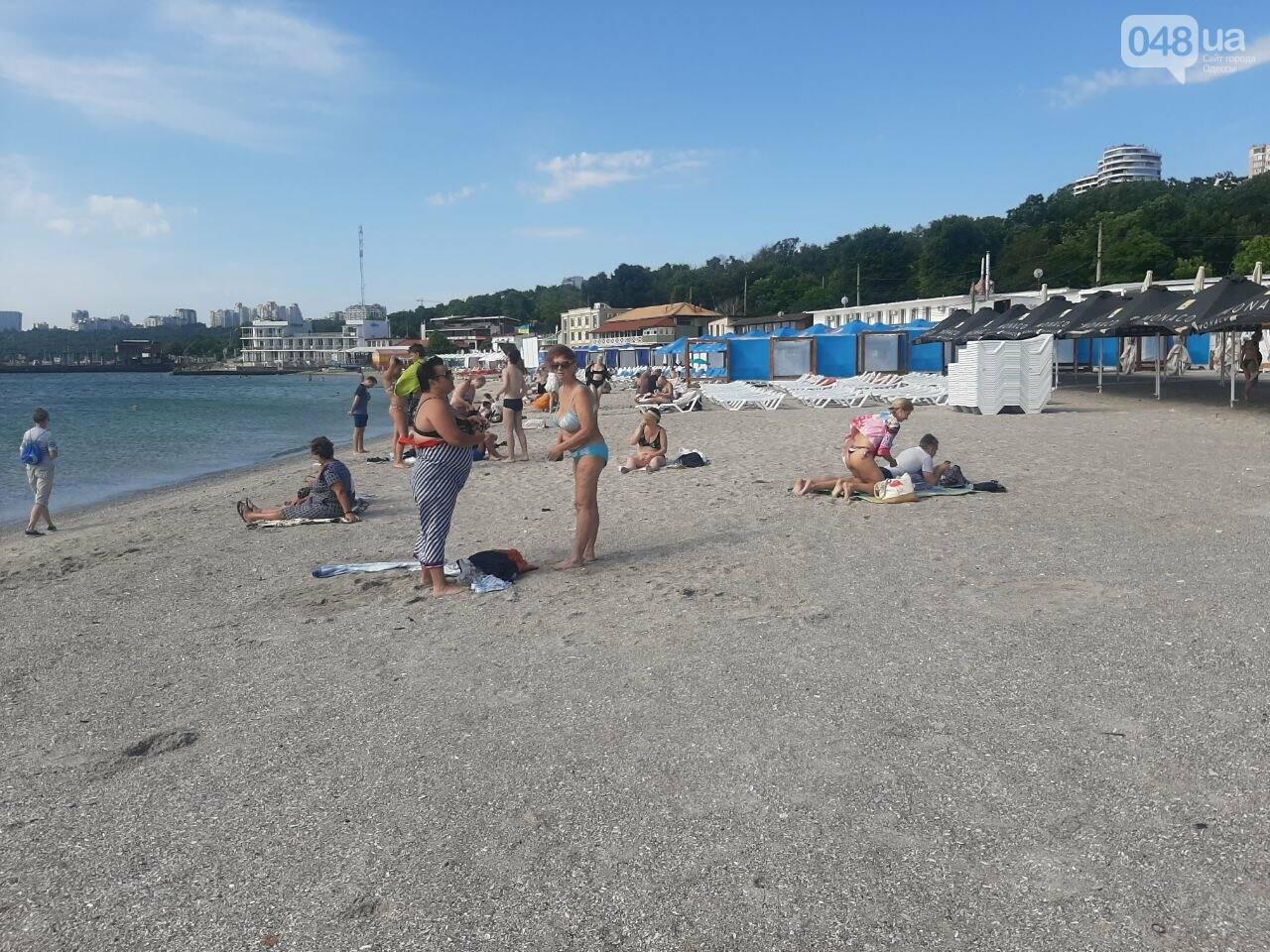 Как выглядит пляж Ланжерон в Одессе после ливня, - ФОТО, ВИДЕО, фото-15
