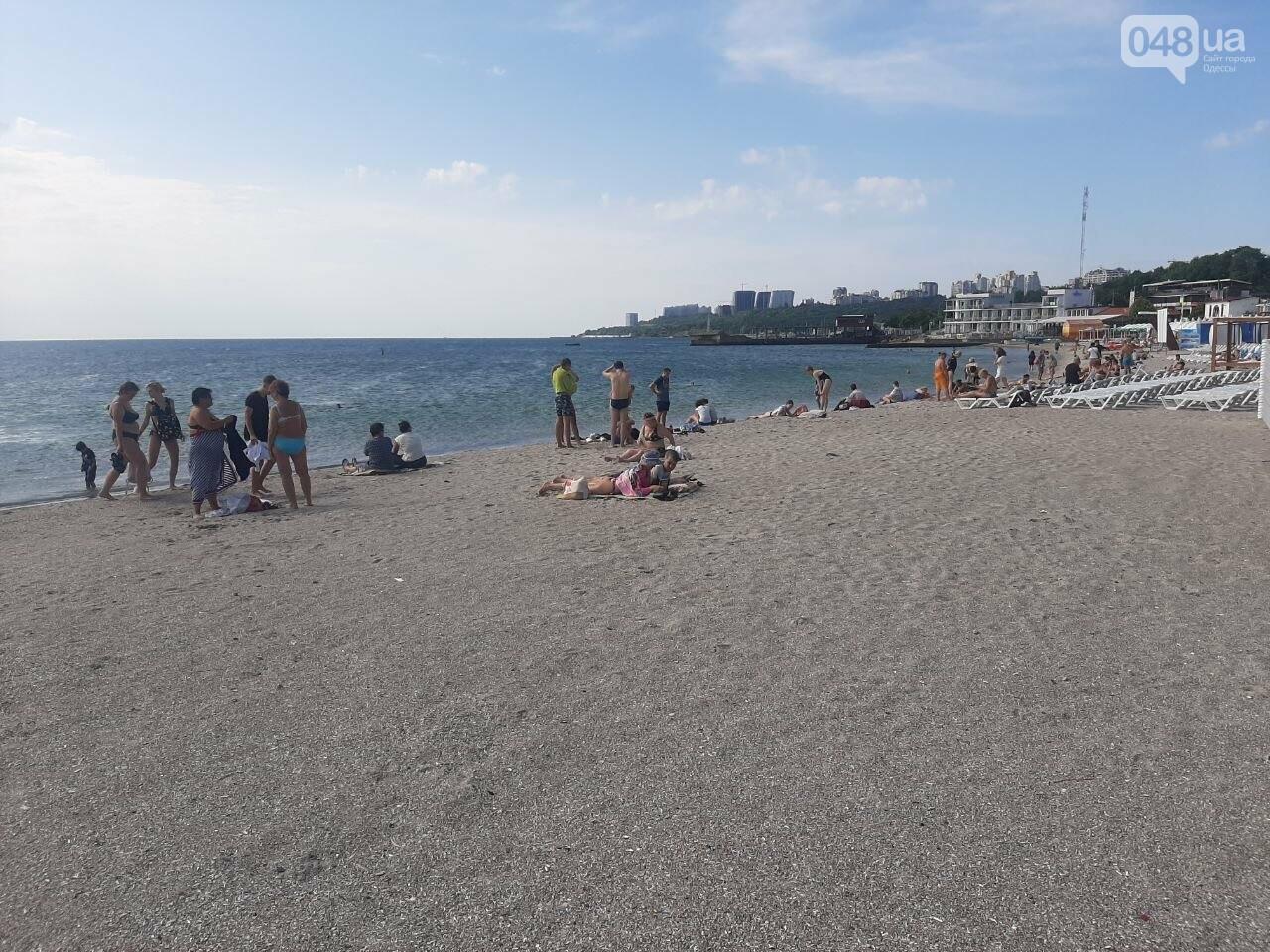 Как выглядит пляж Ланжерон в Одессе после ливня, - ФОТО, ВИДЕО, фото-16
