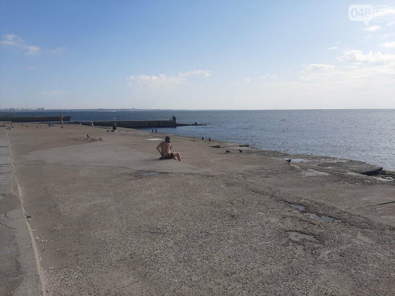 Как выглядит пляж Ланжерон в Одессе после ливня, - ФОТО, ВИДЕО, фото-17