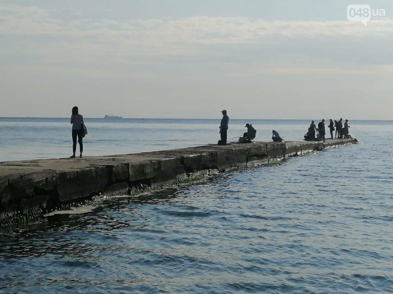 Что происходит в первый день осени на одесском пляже,- ФОТОРЕПОРТАЖ, фото-14
