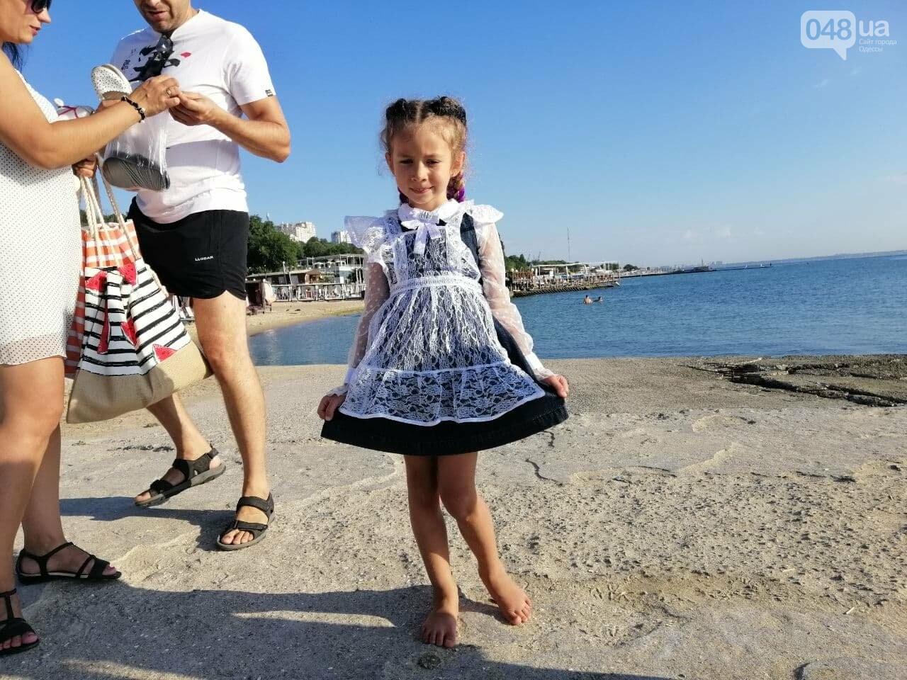 Что происходит в первый день осени на одесском пляже,- ФОТОРЕПОРТАЖ, фото-2