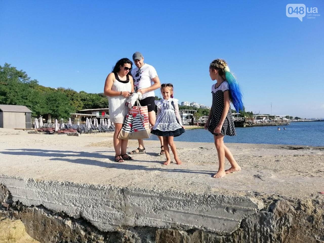 Что происходит в первый день осени на одесском пляже,- ФОТОРЕПОРТАЖ, фото-4