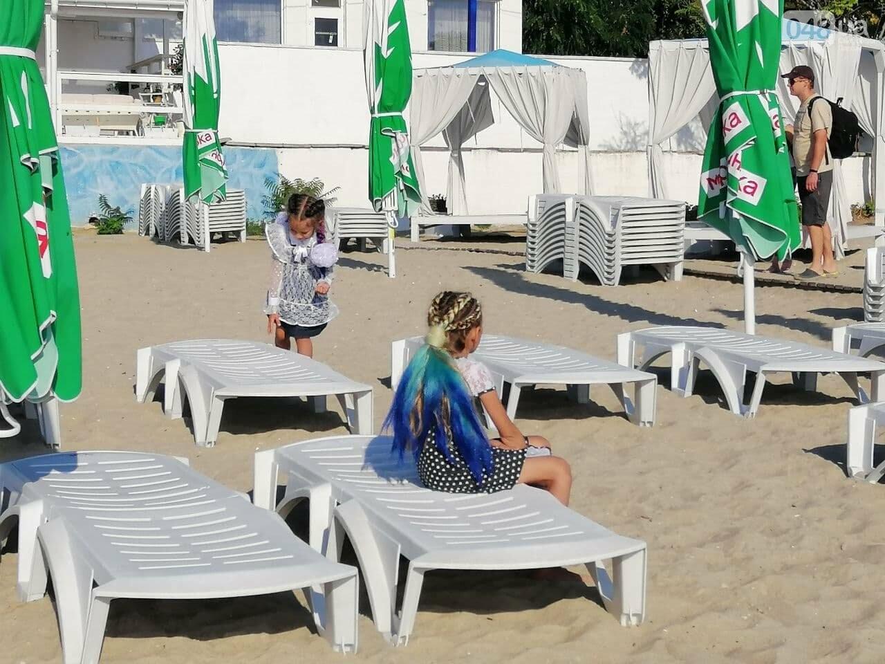 Что происходит в первый день осени на одесском пляже,- ФОТОРЕПОРТАЖ, фото-5
