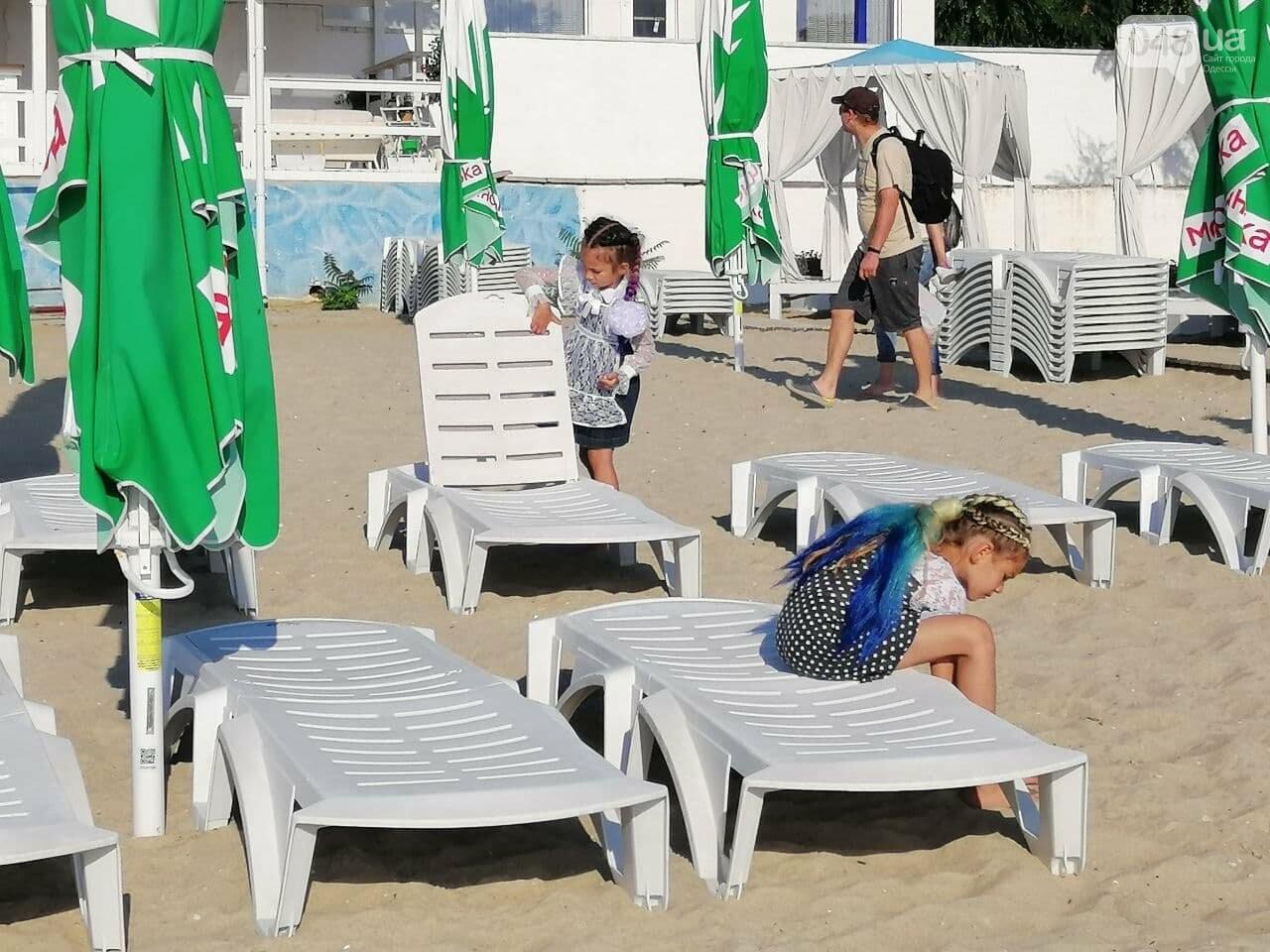 Что происходит в первый день осени на одесском пляже,- ФОТОРЕПОРТАЖ, фото-6