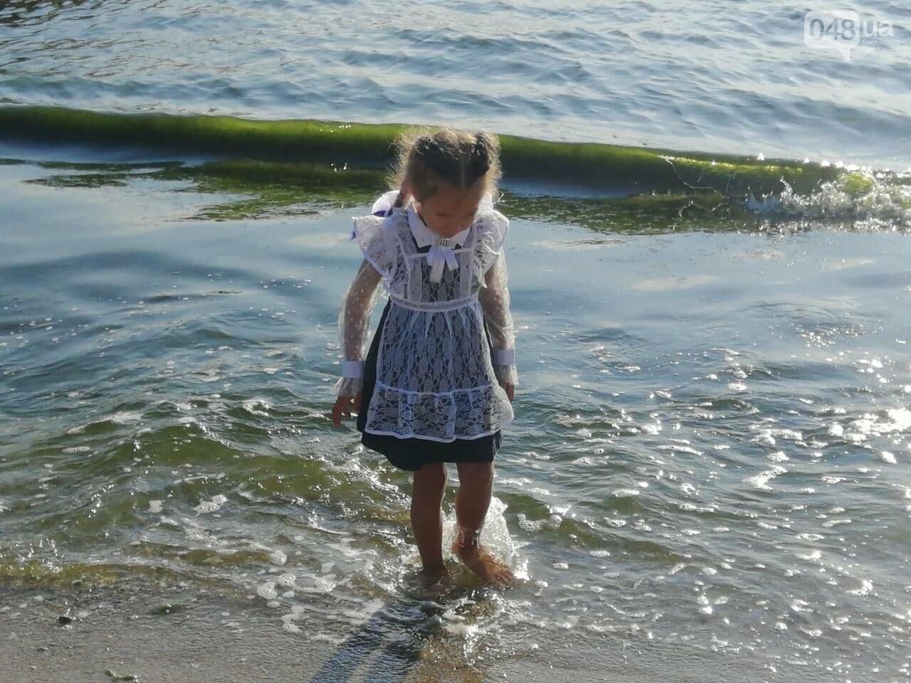 Что происходит в первый день осени на одесском пляже,- ФОТОРЕПОРТАЖ, фото-7