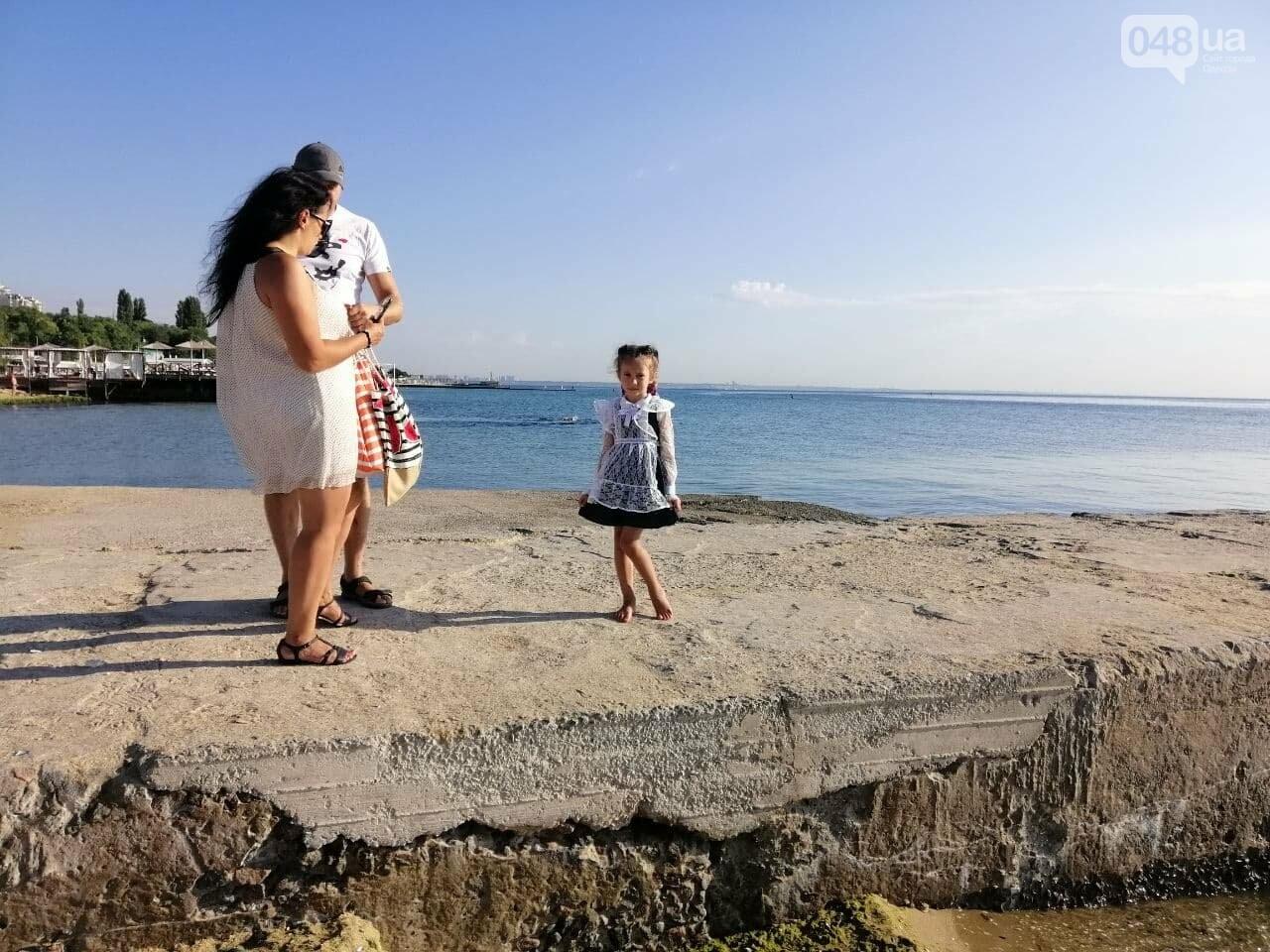 Что происходит в первый день осени на одесском пляже,- ФОТОРЕПОРТАЖ, фото-3