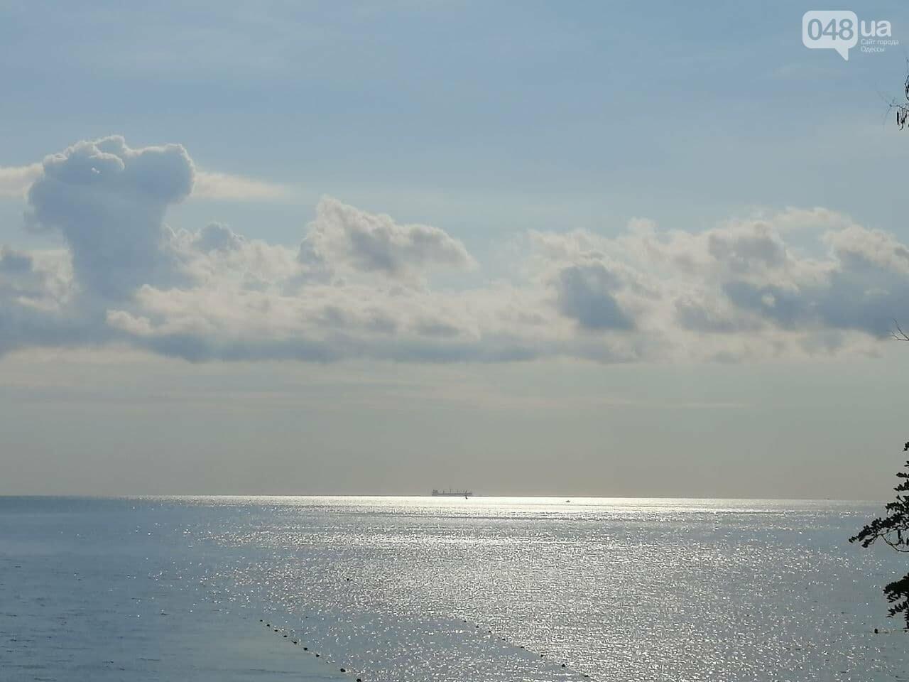 Что происходит в первый день осени на одесском пляже,- ФОТОРЕПОРТАЖ, фото-1