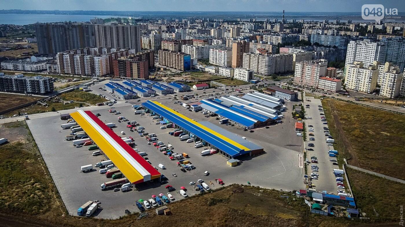 Подарок городу: на рынке «Початок» создали самый большой флаг Одессы – его видно из космоса, фото-3