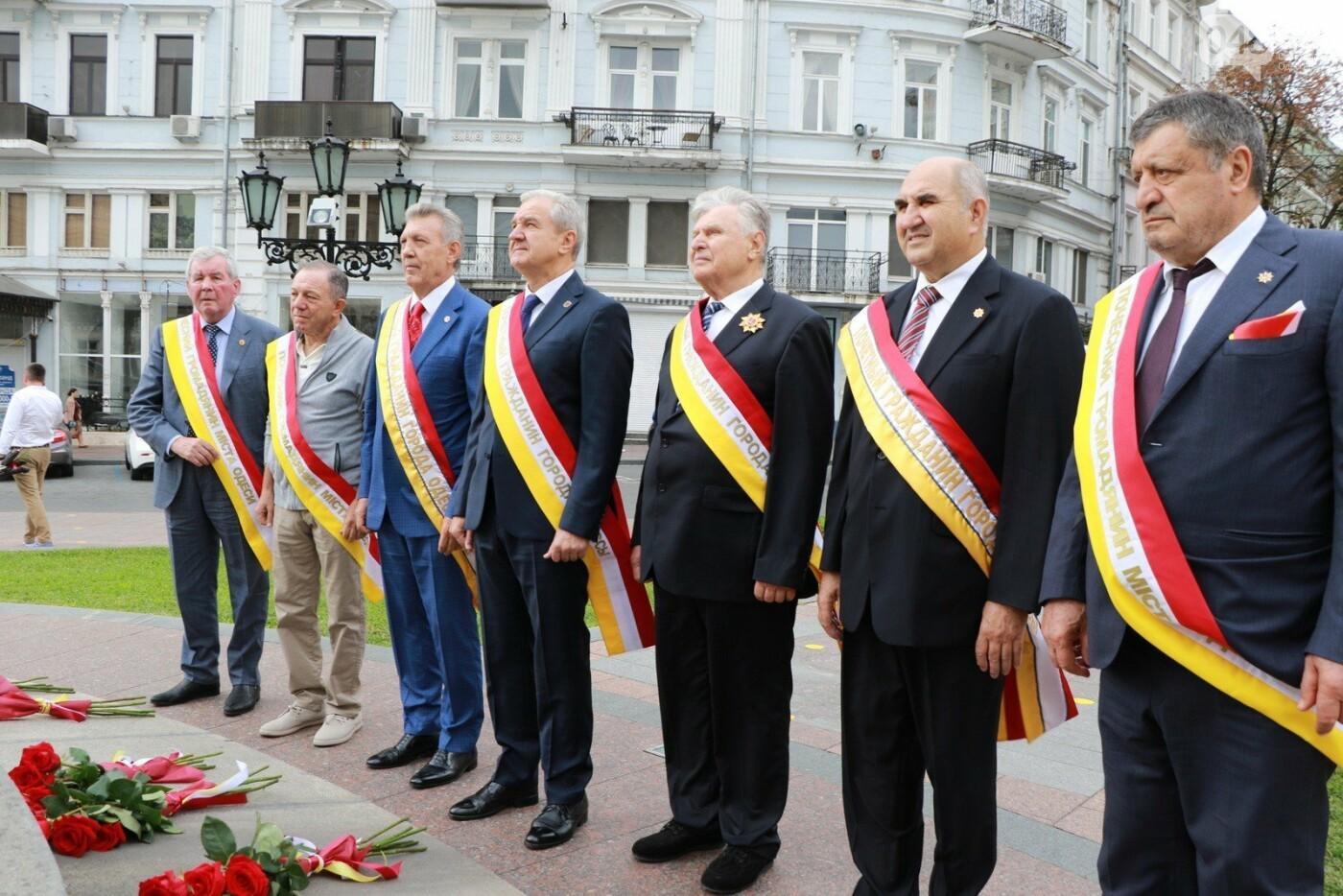 День Одессы 2021: почетные граждане возложили розы к памятнику Екатерине II,- ФОТО, фото-2