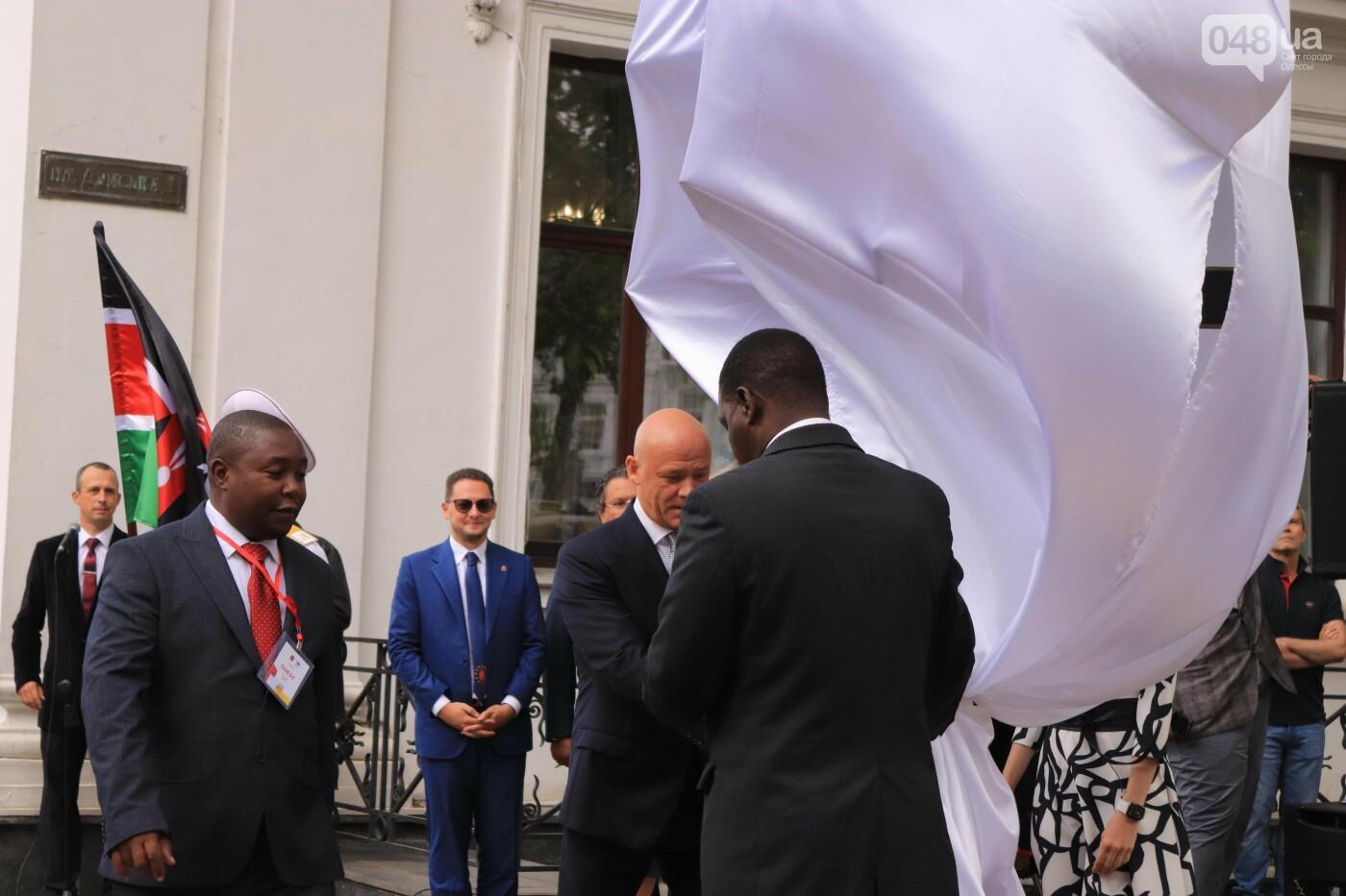 Труханов и делегация из Кении: в центре Одессы торжественно открыли табличку города Момбаса, - ФОТО, фото-7
