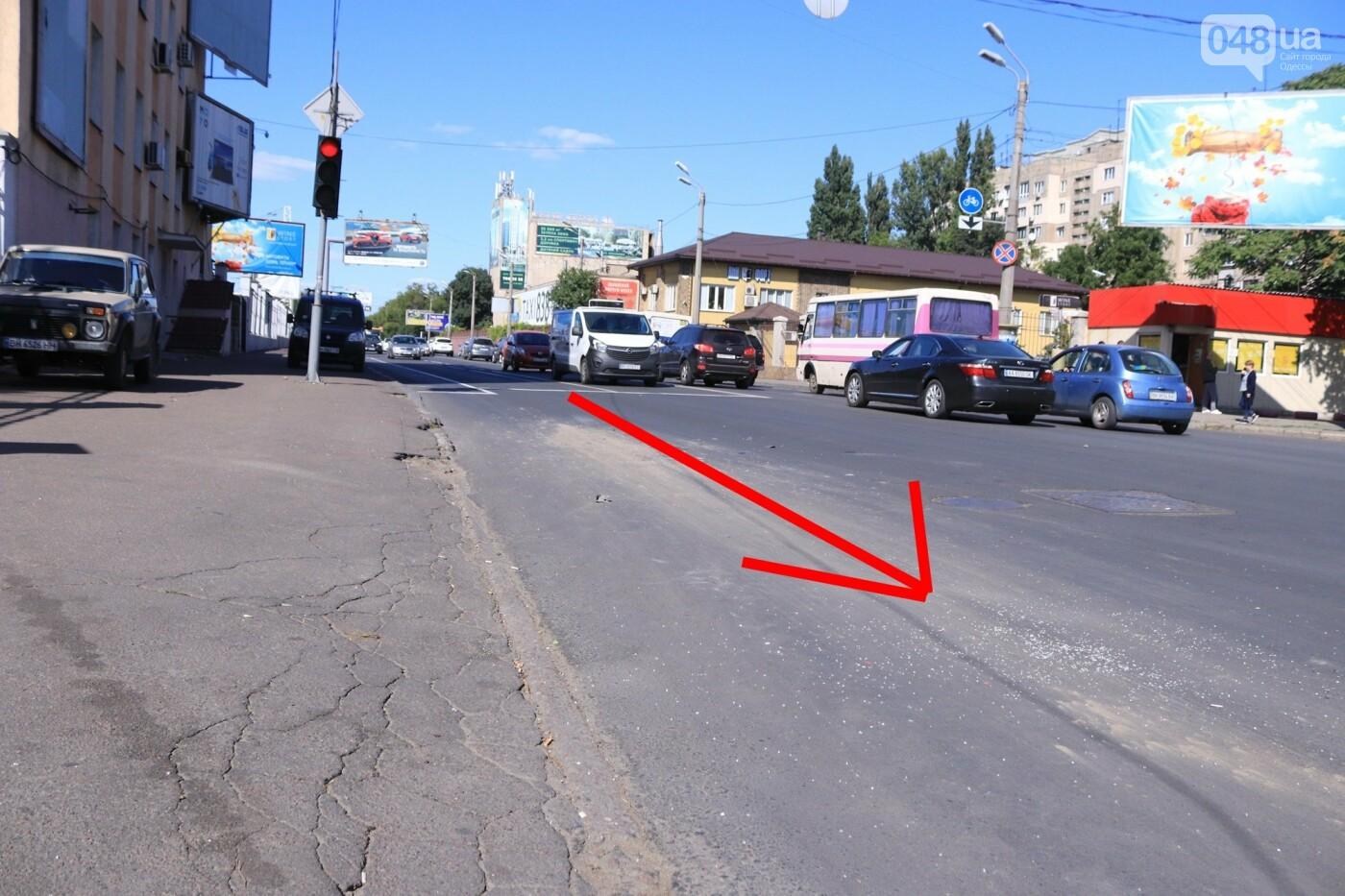Могли взорваться: в Одессе КАМАЗ протаранил на светофоре легковушку с баллоном газа в багажнике, - ФОТО , фото-10