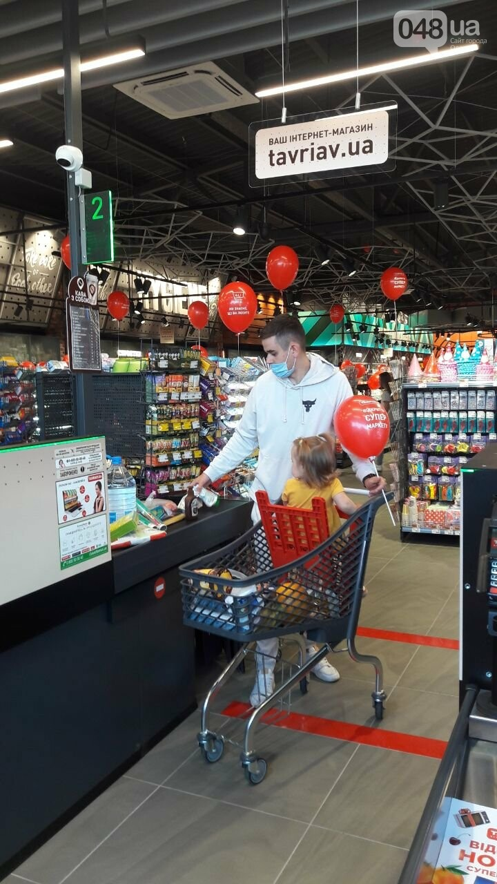 Компанія «Таврия В» відкрила новий, сучасний супермаркет у житловому комплексі «Седьмое небо», фото-5