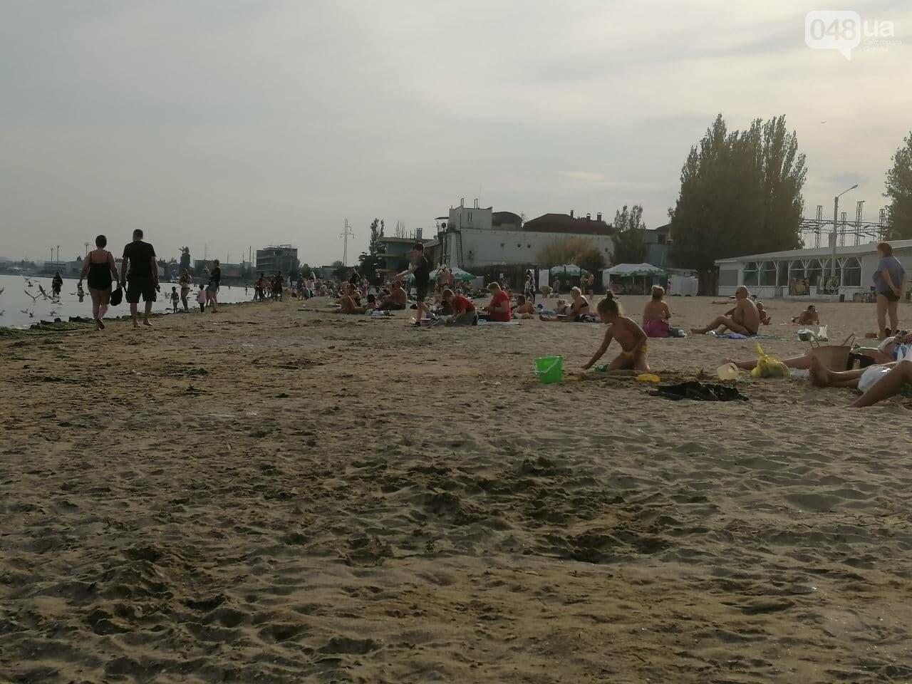 На пляжах Одессы начался бархатный сезон,- ФОТОРЕПОРТАЖ, фото-5