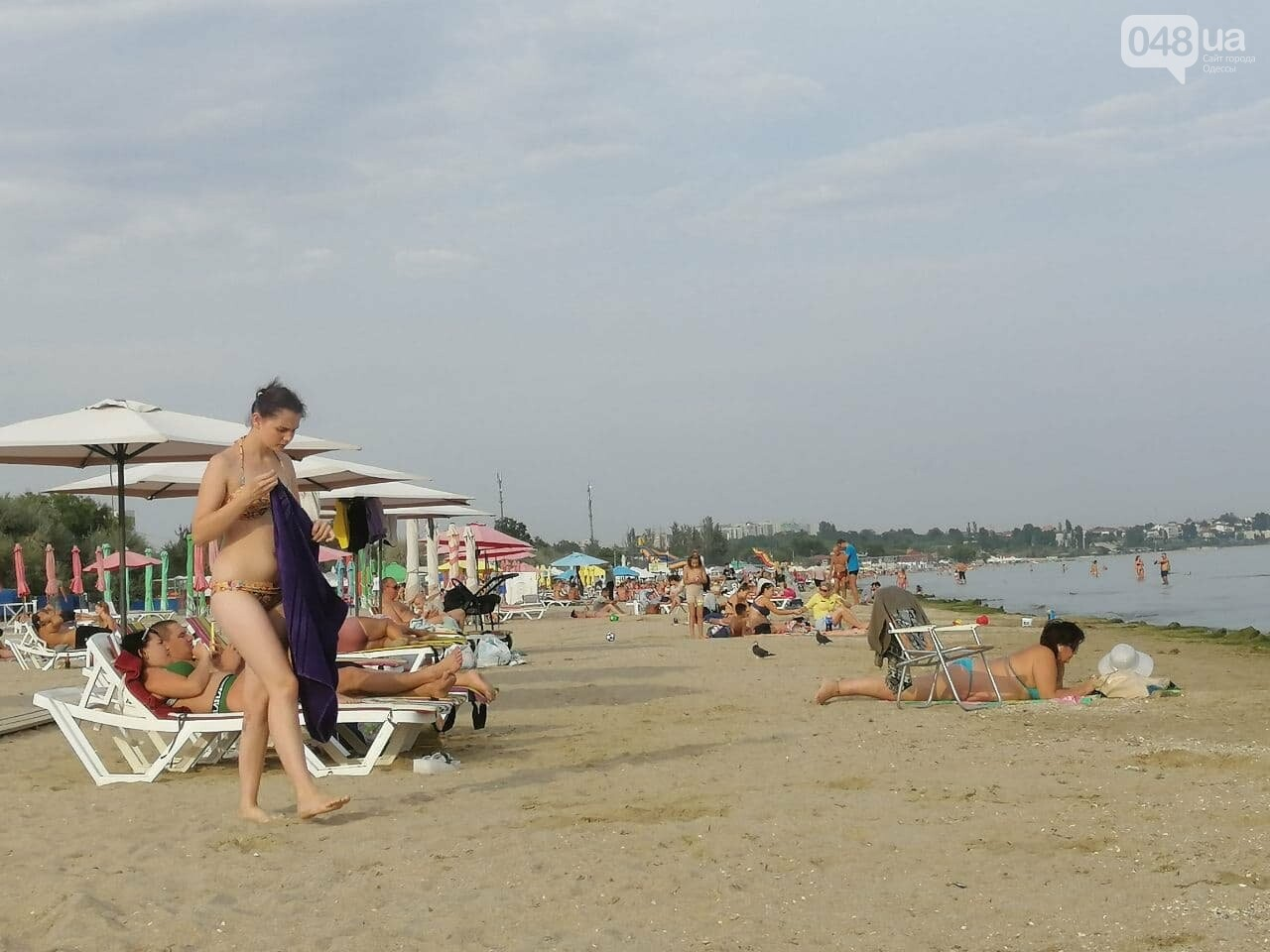 На пляжах Одессы начался бархатный сезон,- ФОТОРЕПОРТАЖ, фото-2