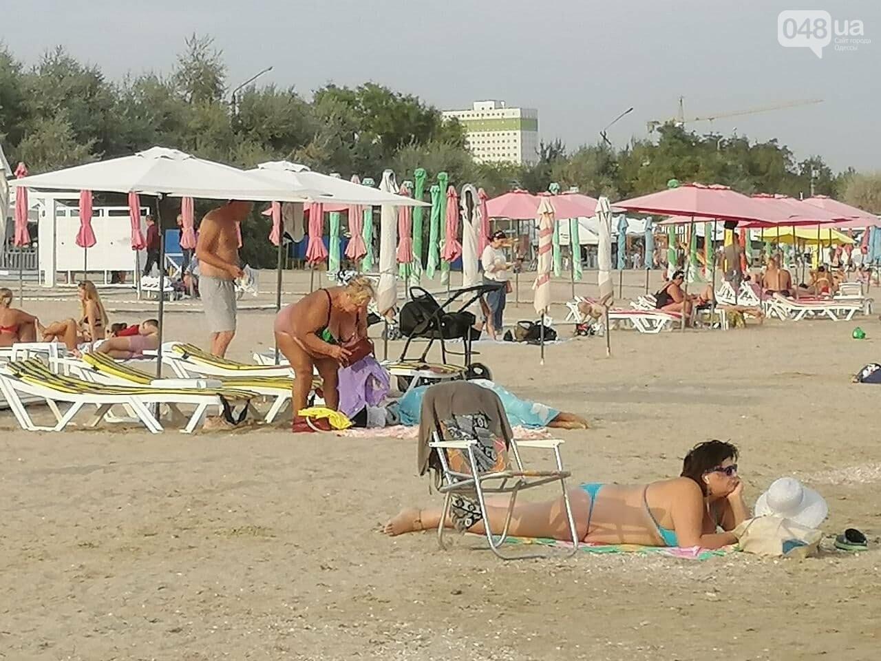 На пляжах Одессы начался бархатный сезон,- ФОТОРЕПОРТАЖ, фото-1