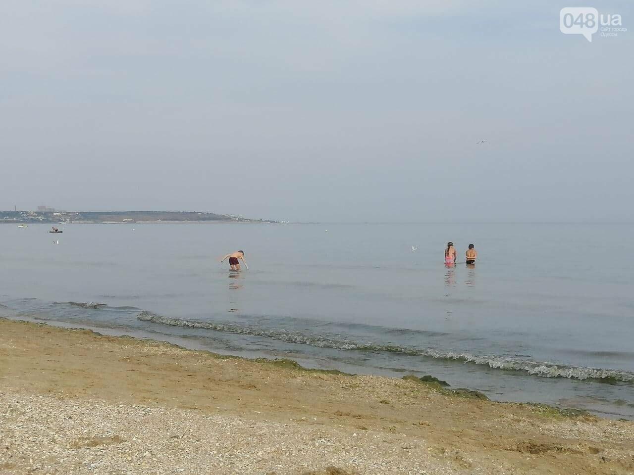 На пляжах Одессы начался бархатный сезон,- ФОТОРЕПОРТАЖ, фото-9
