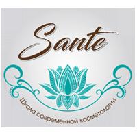 Логотип - Sante, школа современной косметологии