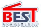 Логотип - Best Apartments, апартаменты