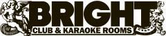 Логотип - Bright Club & Karaoke Rooms, ресторан-караоке клуб Брайт