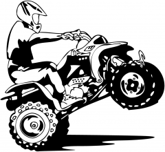 Логотип - ATV парк, клуб активного отдыха