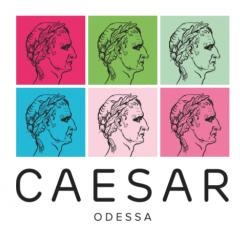 Логотип - Caesar, доставка суши и пиццы