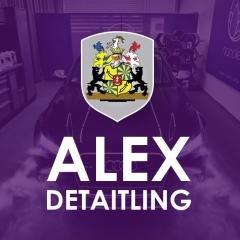 Логотип -  Alex Detailing, Детейлинг авто