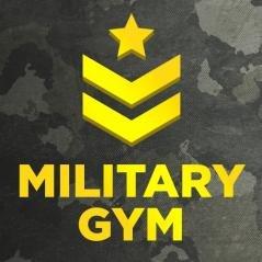 Логотип - Military gym,  сеть фитнес клубов