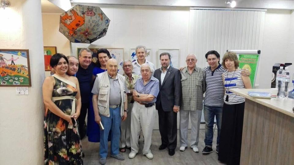 Жванецкий посетил в Одессе всемирно известный клуб (ФОТО), фото-1