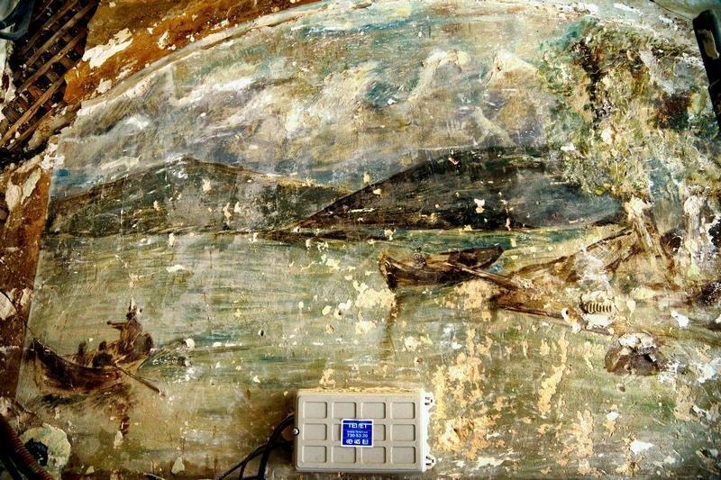 Появились новые изображения старинной фрески внутри дома в центре Одессы (ФОТО), фото-2