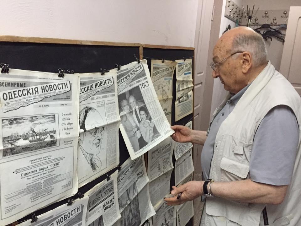 Жванецкий посетил в Одессе всемирно известный клуб (ФОТО), фото-2