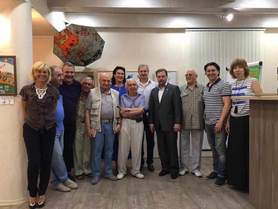 Жванецкий посетил в Одессе всемирно известный клуб (ФОТО), фото-4