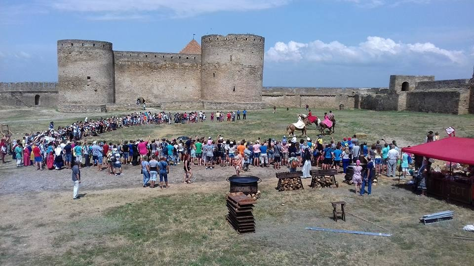 В старинной крепости под Одессой рубились могучие воины (ФОТО, ВИДЕО), фото-4